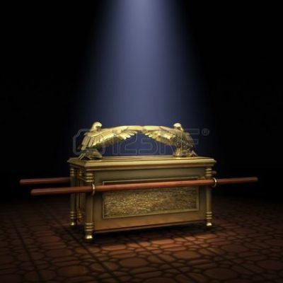 ARK OF THE COVENANT: Ark of the Covenant inside the Holy of Holies