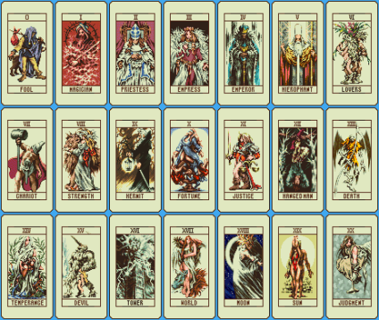 THE TAROT PICTORIAL CARDS. photocredit/thanks:gimmgp