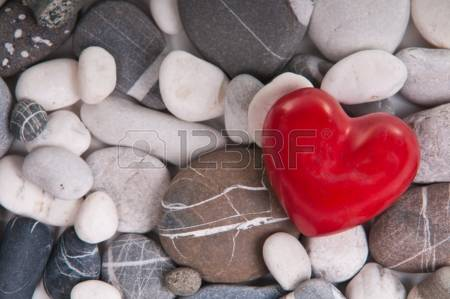 Featured Image Of Colored Stones Including A Heart Shaped One.