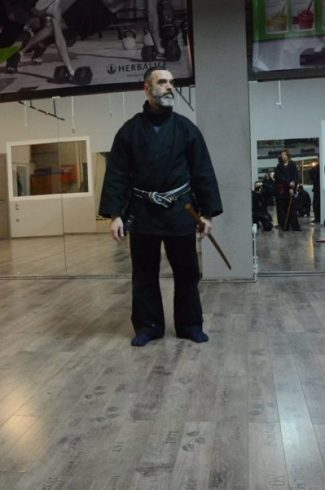 SENSEI HARRY MITROU photocredit/thanks:bujinkan