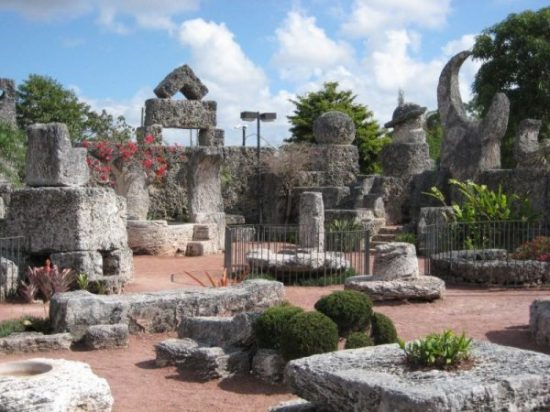 photocredit/thanks:somniumdei CORAL CASTLE, the BERMUDA TRIANGLE AND THE SECRET SOCIETY OF ED LEEDSKALNIN. THE BELL TOLLS… OPEN SESAME…You look up as the twin ringing peals of the front gate bell slowly echoes, fades…a lone figure emerges. A slight somewhat dapper man... Back in the 1950's... that is the scene at this CASTLE... OF CORAL... BUILT ONLY... by the... dapper man...suspiciously and somewhat close to the BERMUDA TRIANGLE AREA... this place... ALMOST... defies gravity. BUILT BY one dapper man... Join Shiro and meet at the CORAL CASTLE it seems indeed.