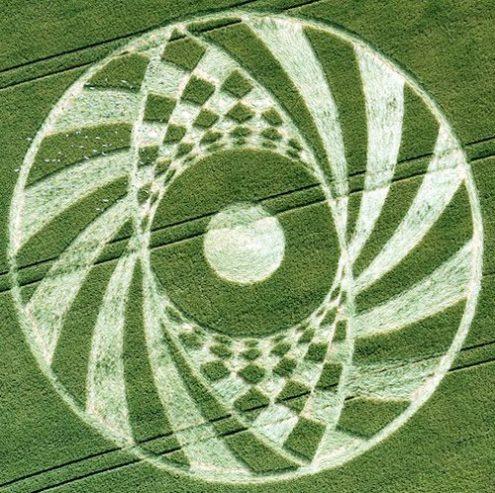 Crop Circle at Ufton, near Southam, Warwickshire UK ... Reported on ...