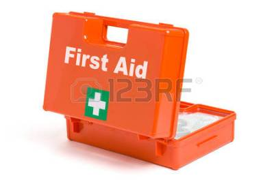 FIRST AID...FIRST UP... CLICK PHOTO TO SEE SHIRO's FIRST AID IDEAS... FIRST...