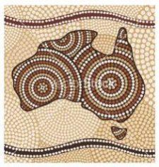 Aboriginal Art, Dot Painting and Symbols.