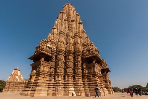 Beautiful Shikara of Kandariya Mahadev Temple photocredit/thanks:indiendeluxe