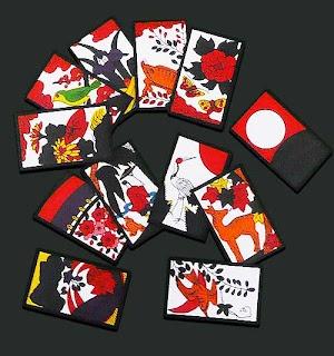 JAP.CARD GAME HANAFUDA... SHIRO LEARNT AT KOMA HOUSE JAPAN WHILST NINPO TRAINING. photocredit/thanks:revogamers