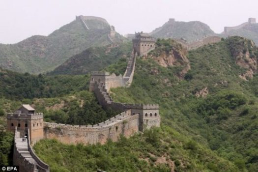 THE GREAT WALL OF CHINA. photocredit/thanks:twitter