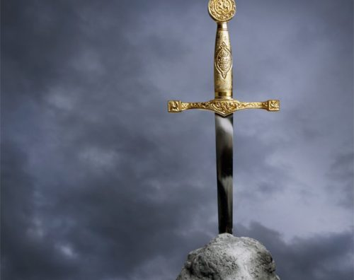 SWORD IN THE STONE. photocredit/thanks:listverse