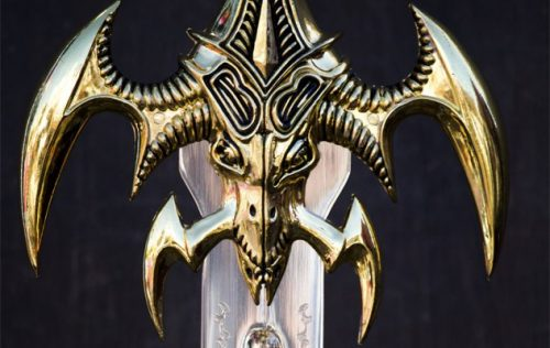 LEGENDARY WEAPON...THE 7 BRANCHED SWORD... photocredit/thanks:listverse