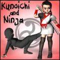 KUNOICHI + NINJA...NINJA + KUNOICHI... SHINOBI ALL.