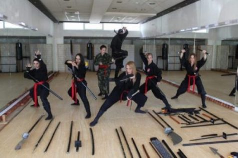 TRAINING...KUNOICHI STYLE...UNIQUELY. Photo Credit/Thanks:youtube