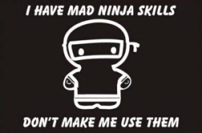 ninja photocredit/thanks:tshirtsareus