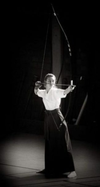 THE WAY OF THE BOW... STYLE... STRAIGHT AS. ARROW TRUE. Photo Credit/Thanks kyudo.com