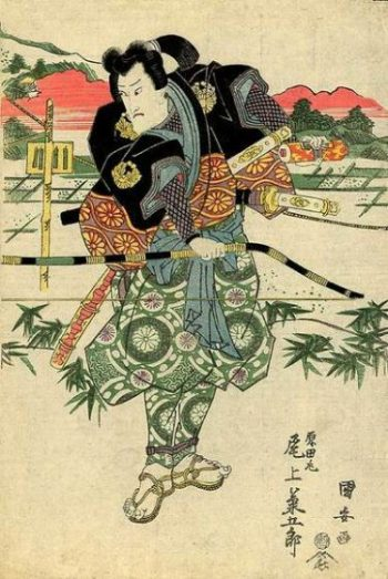 A MALE SAMURAI ARCHER... LOOKING LEGENDARY INDEED... AND RATHER... GREEN DOWN BELOW THE BOW... photocredit/thanks:pinterest