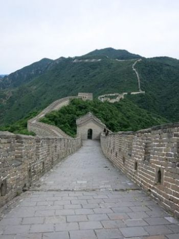 A GREAT VIEW... ON THE GREAT WALL. CHINA. CLICK AWAY TO VIEW A SET OF 12 LEGENDARY WEAPONS.