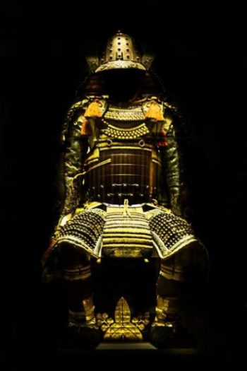 Image Of Ancient Japanese Armor.