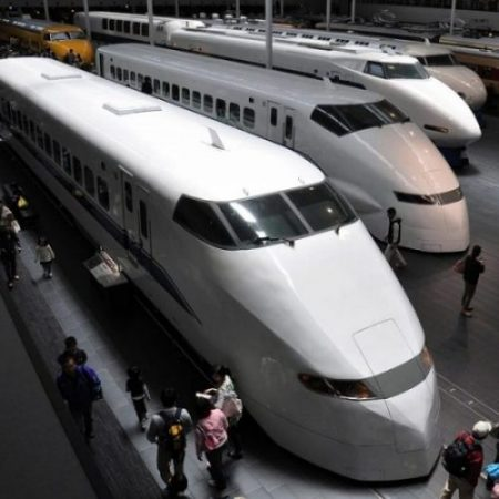 SOME TRAINS OF JAPAN.