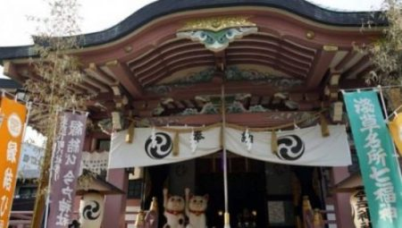 GOTOKUJI TEMPLE JAPAN. THE TEMPLE OF THE CAT GUARDIAN. photocredit/thanks:buffalotrip