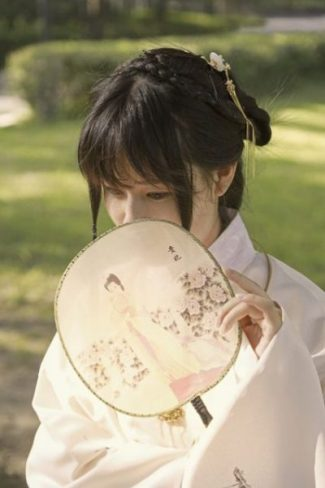 A FAN IS OFT A LADY KUNOICHI's CHOICE... FOR FANNING AWAY... FANS OF ILL-REPUTE... AND SO ON... CLICK A FAN WAY TO SEE... AND HEAR... WITH Shiro... LULLABY's... BY THE LADIES INDEED.