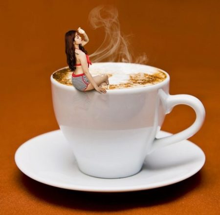 HEY.?. KOFFEE KUNOICHI... IS THAT TROUBLE... BREWING... OR STIRRING... OR JUST A LIL' PEAKED.?.