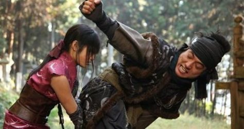 MORE MOVIE MAYHEM... KUNOICHI STYLE INDEED. PhotoCredit/Thanks:youtube