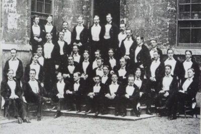 PhotoCredit/Thanks:rbsCEC. RHODES AND MEMBERS OF THE BULLINGDON CLUB. PhotoCredit/Thanks:rbs
