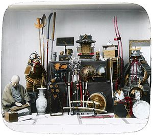 ...ANCIENT WEAPONRY, BLACKSMITHING AND TECH... SOMEWHAT TYPICAL IN A FEUDAL LORD's EQUIP. photocredit/thanks:archives/gettyimages