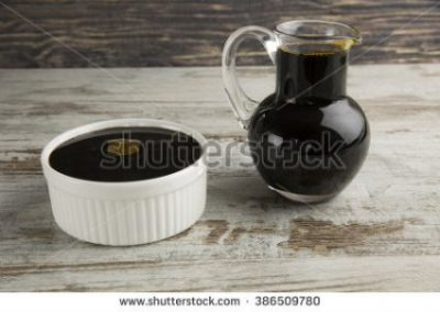 MOLASSES... SWEETENER, VITAMIN AND MINERAL RICH TOO INDEED.