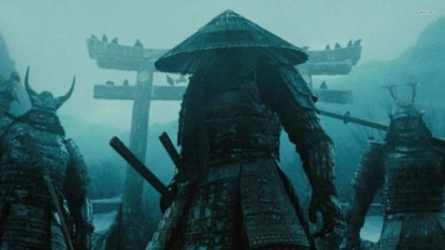 SAMURAI SEEKING SHELTER... CATastrophic weather out it seems. photocredit/thanks:walldevil