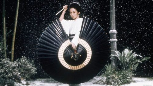 SHINOBI SURPRISE... KUNOICHI STYLE... UNDER THE UMBRELLA... AS ABOVE... OR NOT,.. AS THE CASE MAY BE. Photo Credit/Thanks:youtube