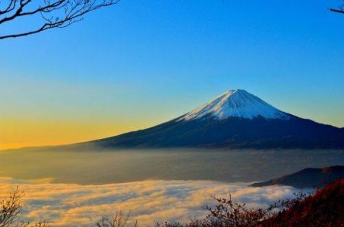 FUJIYAMA...MT.FUJI, JAPAN.