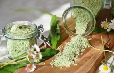 GARLIC SALTS... SIMPLY MIXED AND MADE... CLICK HEREIN FOR A RECIPE INDEED IT SEEMS.