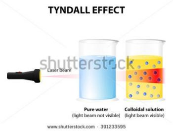 SCIENCE TAKES A CLOSE UP ON COLLOIDS.