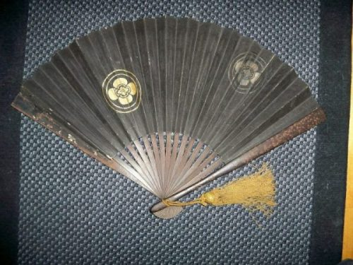 GUNSEN 軍扇... bladed War Fan. photocredit/thanks:wikimedia
