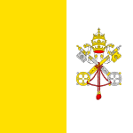 FLAG OF THE VATICAN CITY.