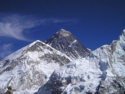 NEPAL. THE EVEREST. THE MOUNT.