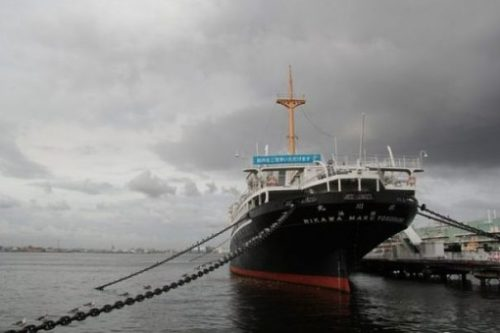 A SHIP.?. A MUSEUM.?. THE MUSEUM SHIP...YAMASHITA PARK.