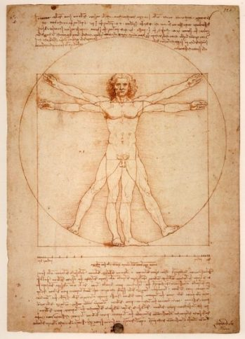 Uomo Vitruviano 1492... The Vitruvian Man of the Cosmos... Balance... Squaring the Circle.