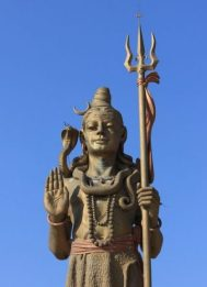 TRISUL Weaponry. Shiva... Statuary. Nepal.
