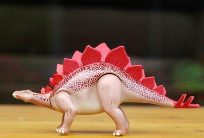 A Modern Toy... Stegosaurus.