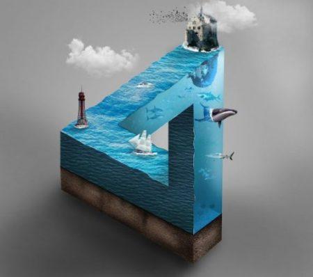 Art of the Deep... Blue.