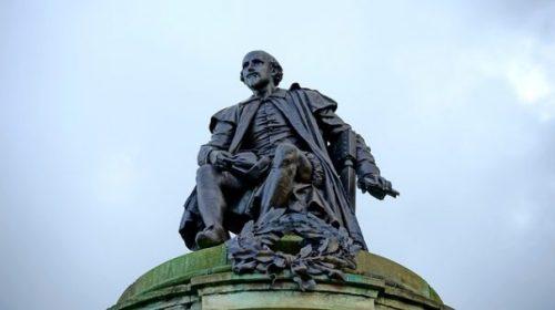 William Shakespeare... in Statuary.