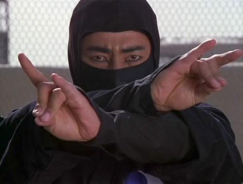 Ninja... Modern Movie Mayhem Style. Here portrayed through the many Martial Talents of Sho Kosugi. Photo Credit/Thanks:youtube