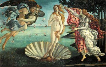By Botticelli... Venus Goddess. photocredit/thanks:wikimedia