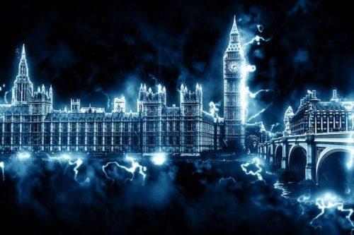 Big Ben... The Clock Tower... Westminster... London,.. England.