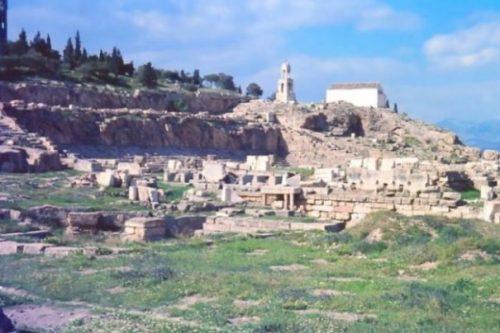 Image Of Ancient Greek Ruins At Eleusis.