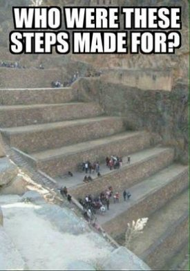 Image Of Ancient Giant Steps.