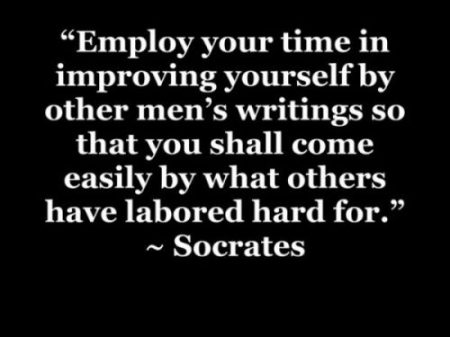 Image Of A Text Quote By Socrates An Ancient Greek Thinker.