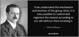 Image Of An Edward Bernays Quote.