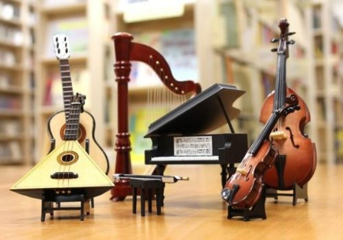 Featured Image Of A Set Of Orchestral Musical Instruments.